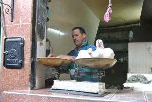 Verse kip halen bij de poelier